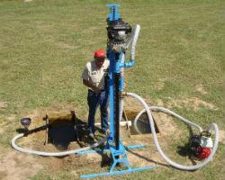 Устройство скважины для воды на даче