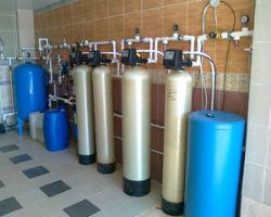 Многоступенчатая система водоподготовки в загородном доме.