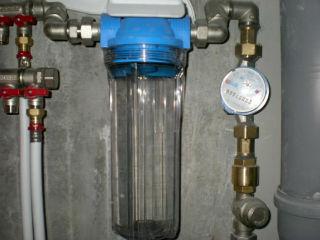 Фильтр для воды для дачи - проточный магистральный, из 86