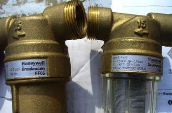 Магистральный фильтр грубой очистки.