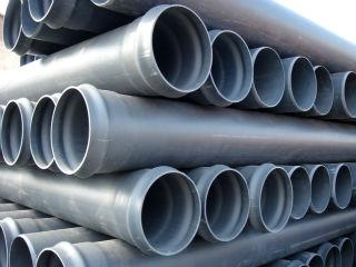 Труба ПВХ, канализационная, диаметр 450 мм