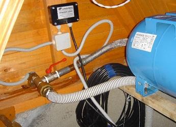 Пример подключения гидроаккумулятора к водопроводной системе.