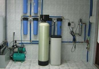 Оборудование для очистки воды для большого коттеджа.