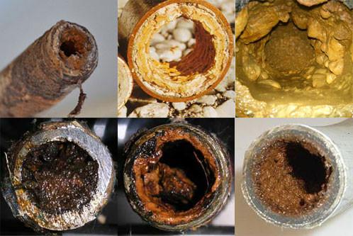 Металлические трубы быстро выходят из строя
