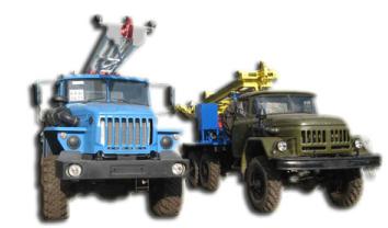 Буровые установки на колесах