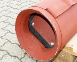 Стандартная желонка для скважины из металла