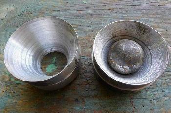 Составляющие для шаровой скважинной желонки