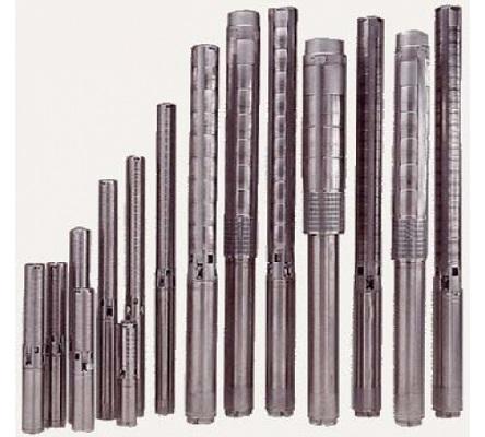 Часть модельного ряда насосов Grundfos серии SP