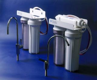 Двухступенчатая система фильтрации с обогатителем жидкости