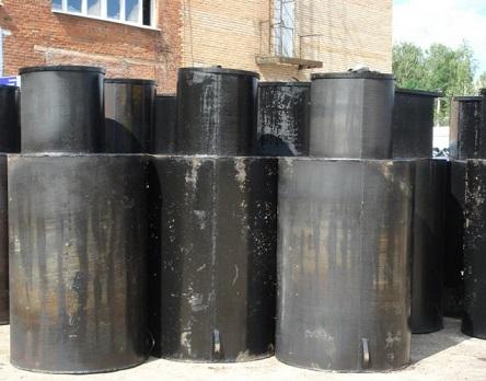 Металлические кессоны для скважины