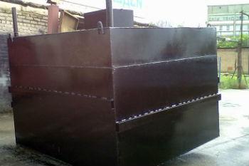 Стандартный прямоугольный кессон из металла