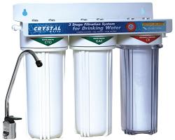 Трехступенчатый проточный фильтр Crystal