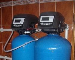Современные модели фильтров для воды с системой контроля и управления.