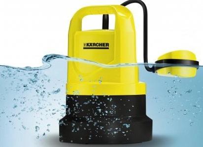 Погружной насос Karcher с поплавковым выключателем