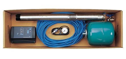 Оборудование для водоснабжения с насосом Grundos серии SQ