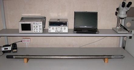 Комплекс оборудования для проведения каротажа скважины