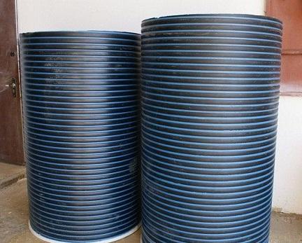 Сборный пластиковый колодец для питьевой воды