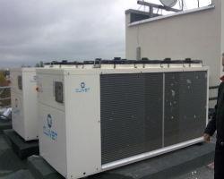 Промышленный тепловой насос воздух-воздух для системы отопления