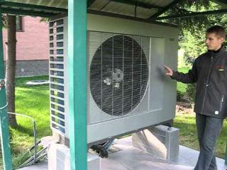 Тепловой насос воздух-вода ACWELL RDM-120