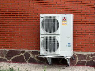 Тепловой насос Zubadan (Mitsubishi Electric) в коттеджном доме