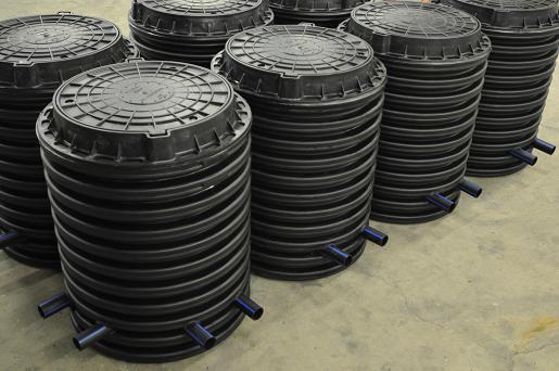 Пластиковые колодцы для кабелей