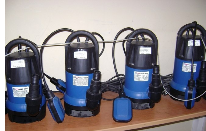 Погружные дренажные насосы AquamotoR ARDP-400D для грязной воды
