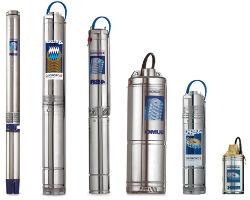 Центробежные скважинные насосы разных конфигураций