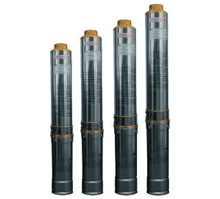 Линейка мощных глубинных насосов для скважин, центробежного типа