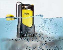 Принцип действия погружного дренажного насоса для канализации