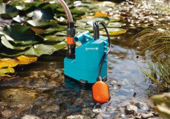 Пример применения дренажных насосов с поплавковыми выключателями
