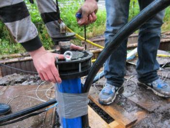 Снятие оголовка скважины для получения дальнейшего доступа к насосу