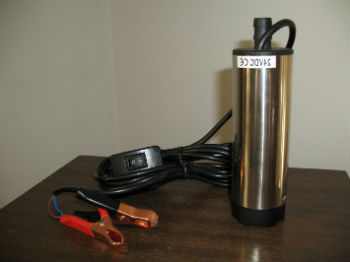 Погружной насос для воды 12 Вольт