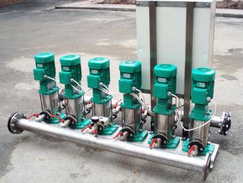 Модульная насосная станция для водоснабжения