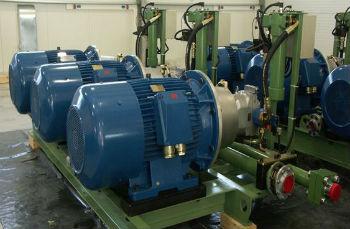 Промышленные поверхностные насосы. в составе блочных станций водоснабжения