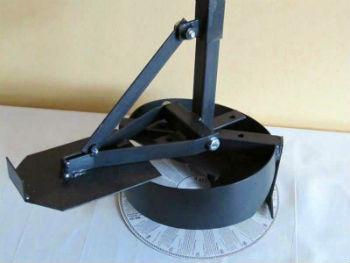 Самодельный бур ТИСЭ с откидной камерой для забора грунта