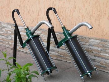 Штанговые насосы для воды с рабочей камерой и направляющими фланцами