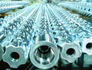 Шнеки для погружных винтовых насосов, из нержавеющей стали