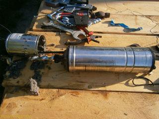 Чистка и обслуживание шнекового насоса для скважины