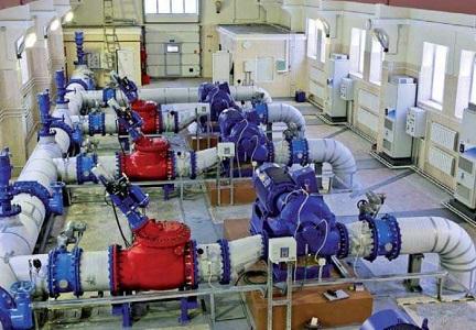 Применение промышленных насосов в сети Водоканала