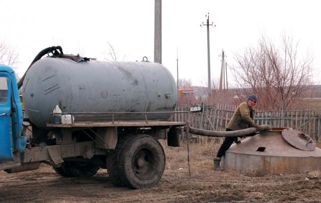 Откачка канализационной ямы