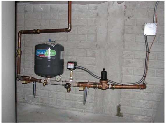 Автоматика Grundfos Cu301 в системе водоснабжения