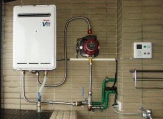 Grundfos UPA для повышения давления газовой колонки