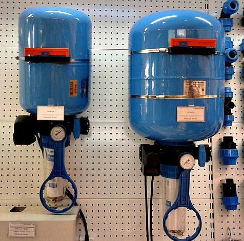 Комплект для водоснабжения КРАБ-50 (бак, реле, фильтр)