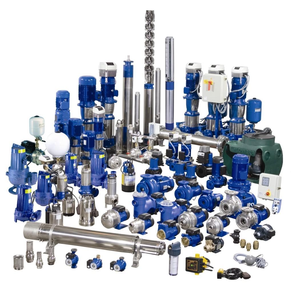 Ассортимент насосного оборудования Насос-Импорт
