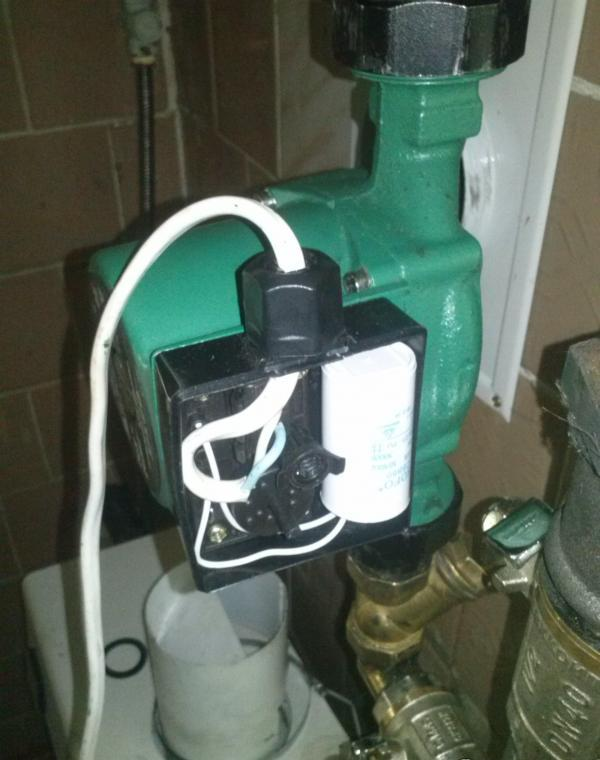 Насос Оазис в системе отопления