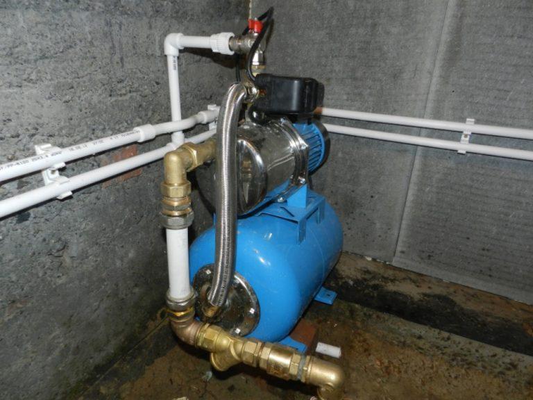 Насосная станция в системе водоснабжения