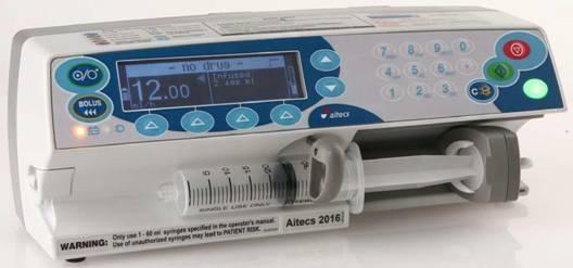 Насос(помпа) Aitecs 2016 компактный портативный шприцевой инфузионный