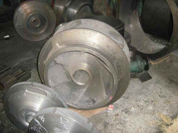 Заготовка рабочего колеса насоса 32Д19