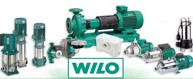 Модельный ряд насосов WILO