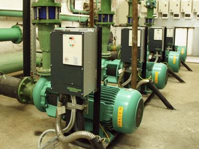 Автоматизированная система управления насосами теплосети